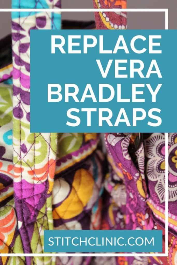 Photo of Vera Bradley Tote Bag Straps