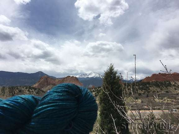 Garden of the Gods, Colorado -Where to buy yarn and fabric when traveling - stitchclinic.com
