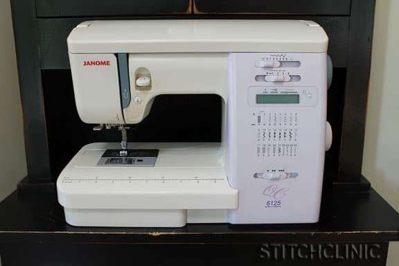 Janome 6125 sewing machine - Good beginner machine