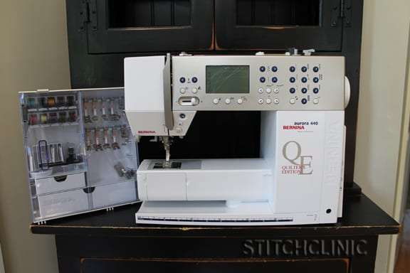 Bernina Aurora 440 Quilters Edition -  big sewing machine