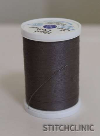 Manatee thread by Coats and Clark -  Dark grey