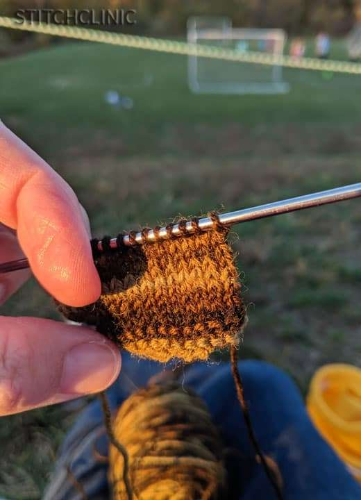 Knitting any chance I get