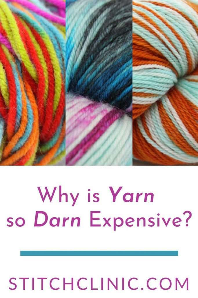photos of different yarns