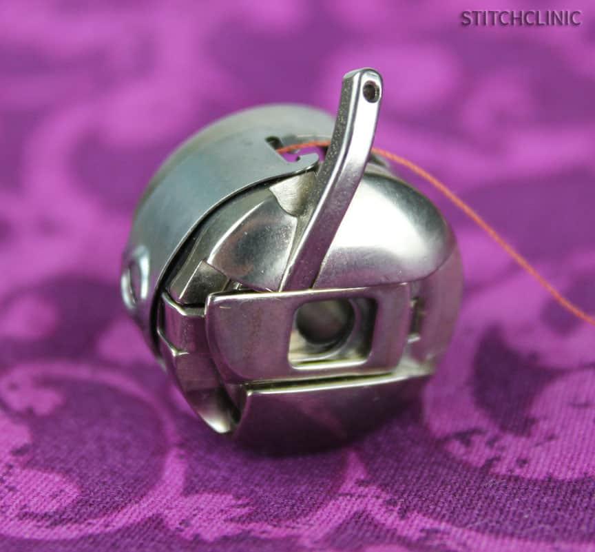 Bobbin case from Bernina Sewing Machine